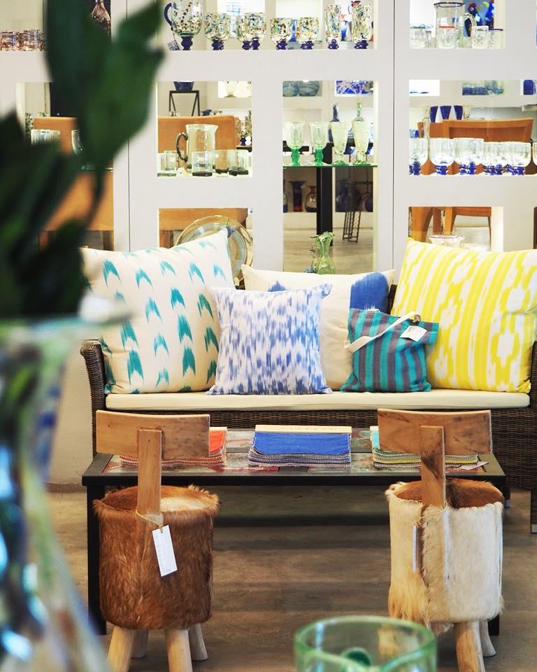 Mallorca Lifestyle Store vidrio telas muebles Lafiore.com  - Über Lafiore