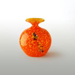 Globo de Vidrio Bola Naranja