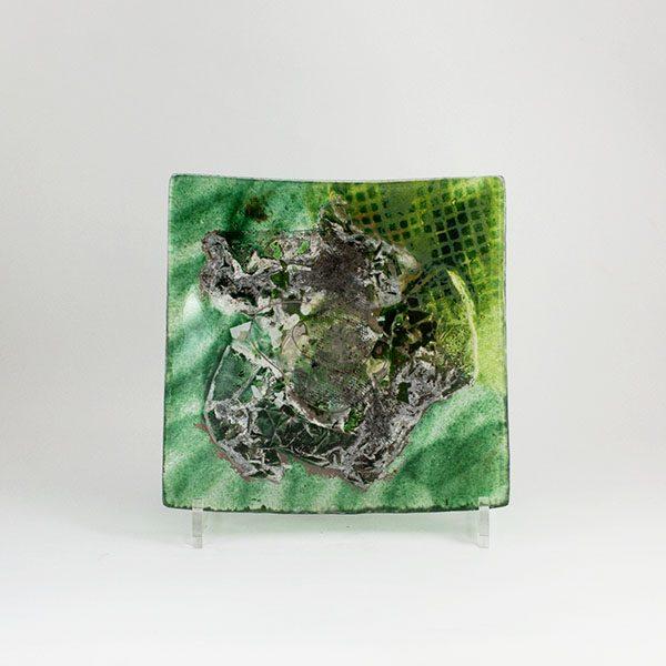 Bandeja Mar Verde Plato decorativo