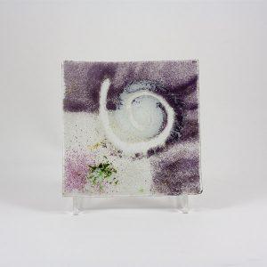 plato vidrio mallorca