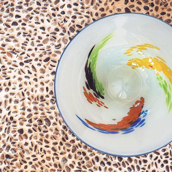 vidrio artístico mallorca multicolor lafiore.com  - Sobre Lafiore