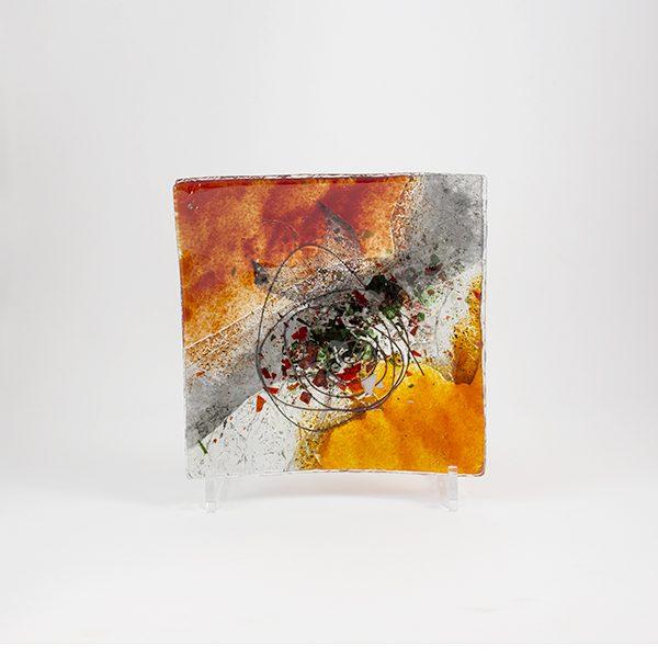 plato decorativo vidrio mallorca 16