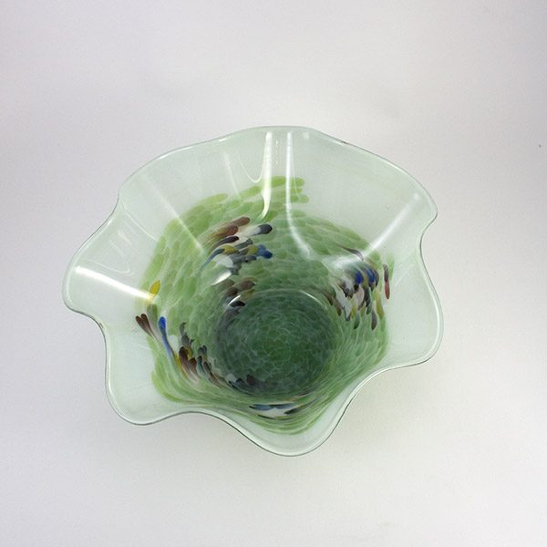 Bowl Selva Verde Glass Lafiore.com