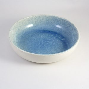Cuenco de Ceramica azul celeste 22