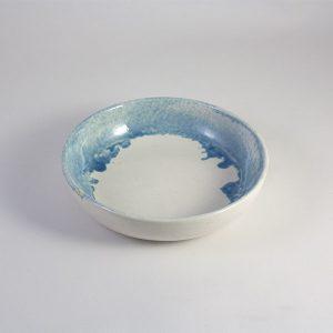 Cuenco de ceramica celeste 18