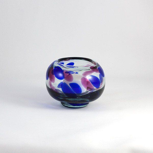 d48dd0d6b43 Portavela de Vidrio Azules - Lafiore Creative   Select Store Mallorca
