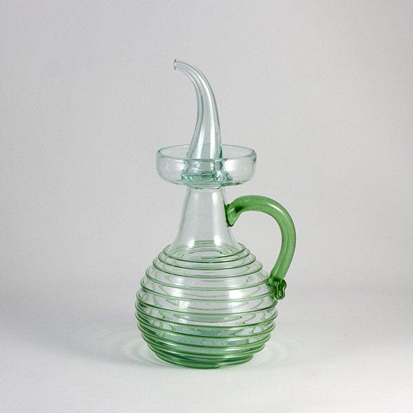 oil decanter premium green