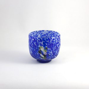 Cuenco Vidrio Azul