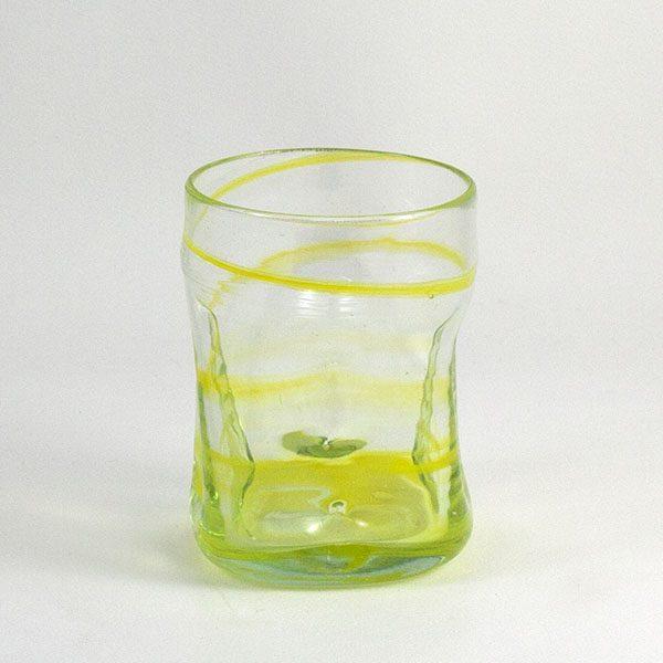 Vaso de Vidrio Glass Deia Yellow
