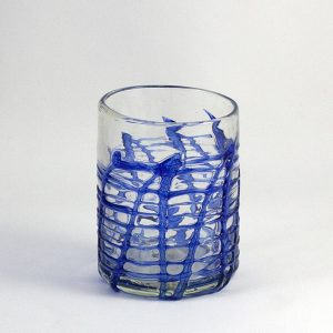 vaso de cristal artístico art of glass mallorca