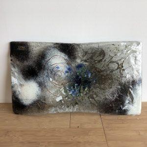 Plato de vidrio fusion suziestyle