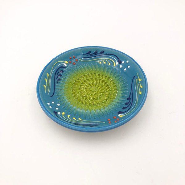rasca ajos azulintensopistacho 600x600 - Garlic Grater Plate