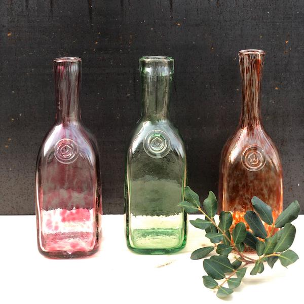 botellas glass bottles flasche glas lafiore - Home, Lifestyle & Select Store