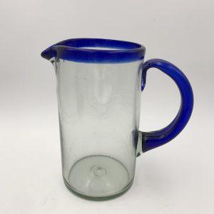 Jarra de Vidrio Azul Marino