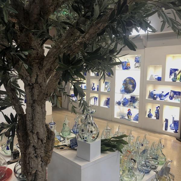 tienda de vidrio cristal mallorca lafiore - Valldemosa Shop reopening