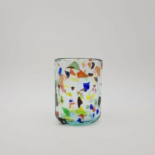 glass terrazzo yellow lafiore 600x600 - Glass Terrazzo Y