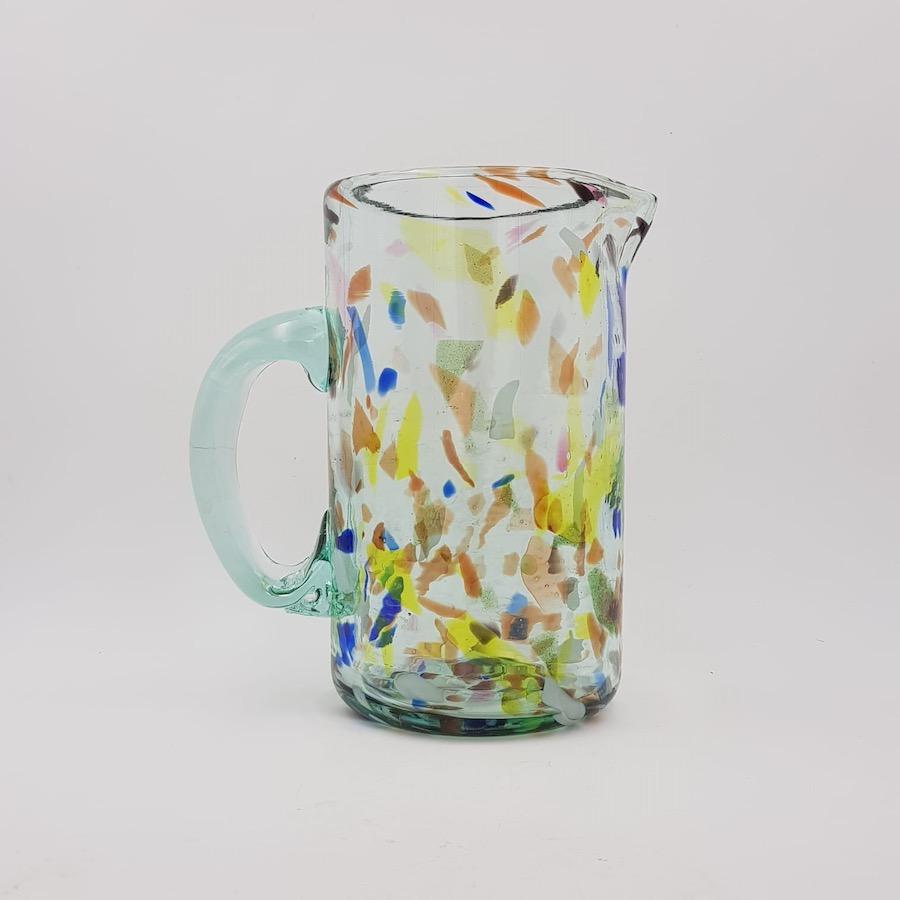 jarra pticher terrazo y glass - Krug Terrazzo Y