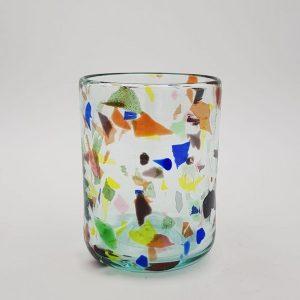 vaso terrazzo y glass 300x300 - Vaso de Vidrio Terrazzo Y