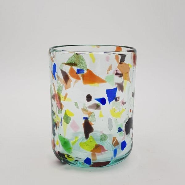 vaso terrazzo y glass - Glas Terrazzo Y