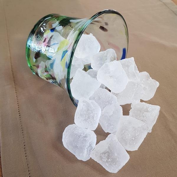 ice cube glass terrazzo mallorca - Ice Bucket Terrazzo Y