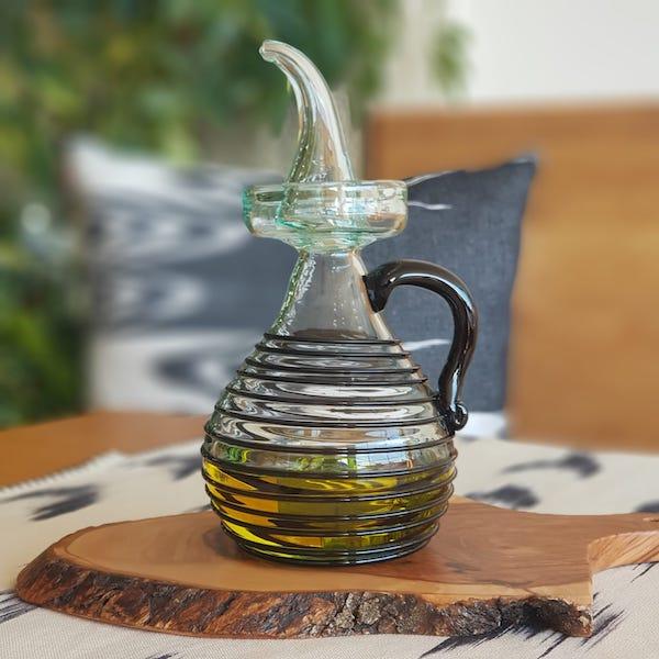 aceitera oilbottle mallorca art neto lafiore.com  - Oilbottle Negre Art