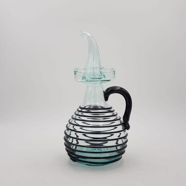 aceitera oilbottle nero hilada lafiore.com  - Oilbottle Negre Art