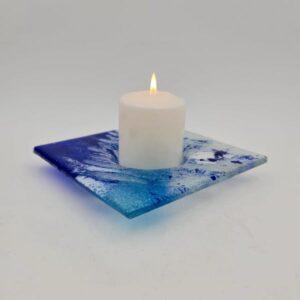 velon portavela candle glass 300x300 - Blau Kerzenhalter