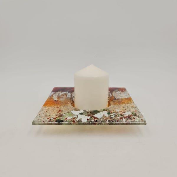 velon candle holder portavelas lafiore.com  - Terracota Candleholder