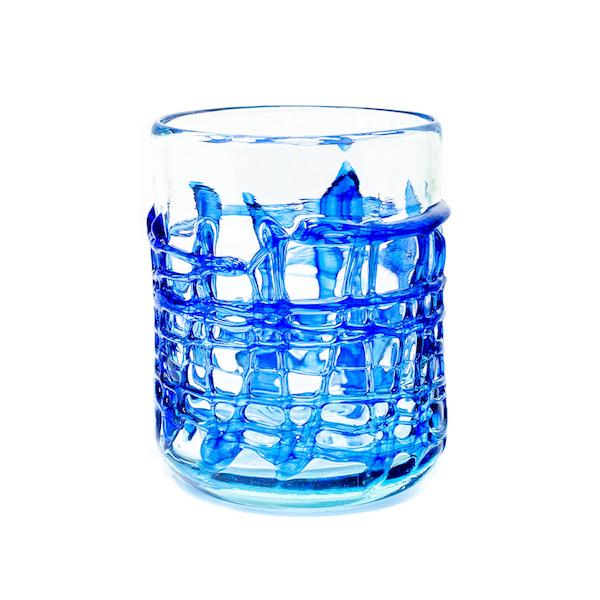 art blau glass - Glass Art Blue